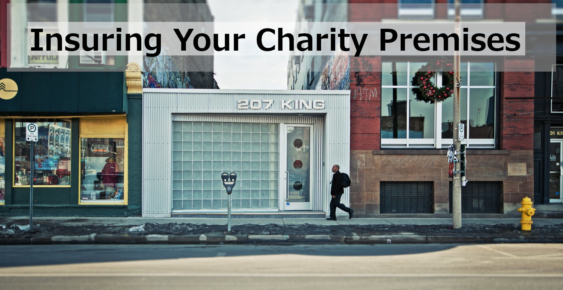 Insuring charity premises
