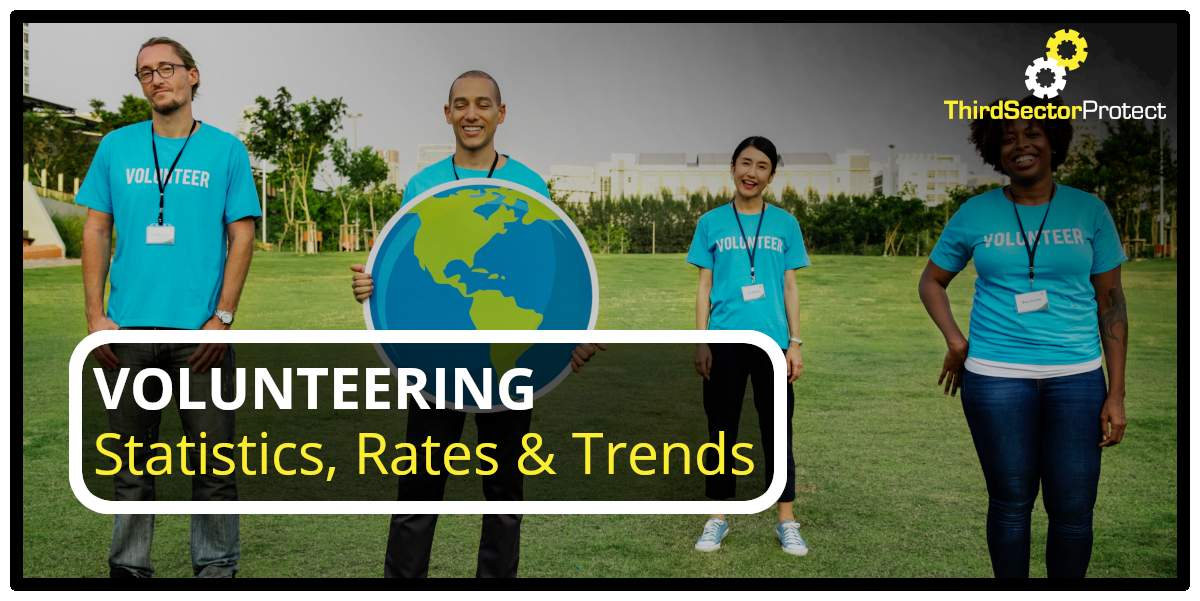 Volunteering statistics, rates & trends.