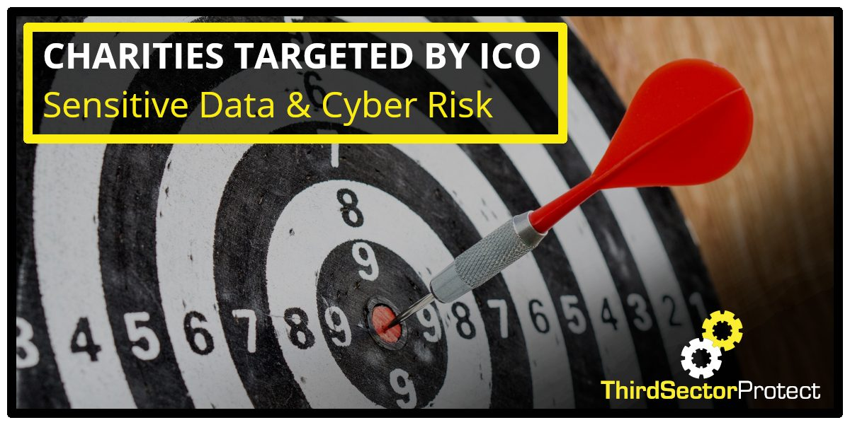 Charities targeted by the ICO over sensitive data and cyber risk.